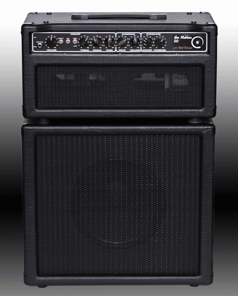 Head with matching 1x12 speaker cabinet in black